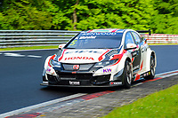 Race of Germany Nürburgring Nordschleife 2016 Free training 2 WTCC 2016 #5 TC1 Honda Racing Team JAS. Honda Civic WTCC Norbert Michelisz (HUN) © 2016 Musson/PSP. All Rights Reserved.