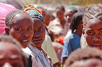 Burgi women at Jiojio market Ethiopia