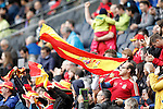 Spain's supporters during friendly match. June 1,2016.(ALTERPHOTOS/Acero)