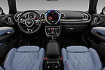 Stock photo of straight dashboard view of 2016 MINI Clubman Cooper-SD 5 Door wagon Dashboard