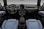 Stock photo of straight dashboard view of 2016 MINI Clubman Cooper-SD 5 Door wagon Dashboard