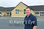 Conor Gleeson the new Principal in Tiernaboul NS Killarney on Thursday