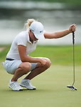 CHON BURI, THAILAND - FEBRUARY 16:  Suzann Pettersen of Norway looks down on the 8th green during day one of the LPGA Thailand at Siam Country Club on February 16, 2012 in Chon Buri, Thailand.  Photo by Victor Fraile / The Power of Sport Images