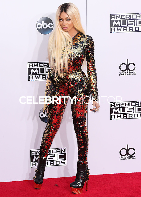 LOS ANGELES, CA, USA - NOVEMBER 23: Dencia arrives at the 2014 American Music Awards held at Nokia Theatre L.A. Live on November 23, 2014 in Los Angeles, California, United States. (Photo by Xavier Collin/Celebrity Monitor)