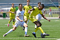 Kris Naicker of the Wellington Phoenix during the ISPS Handa Men's Premiership - Wellington Phoenix v Eastern Suburbs at Fraser Park, Wellington on Saturday 28 November 2020.<br /> Copyright photo: Masanori Udagawa /  www.photosport.nz