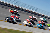 Monster Energy NASCAR Cup Series<br /> GEICO 500<br /> Talladega Superspeedway, Talladega, AL USA<br /> Sunday 7 May 2017<br /> Erik Jones, Furniture Row Racing, ToyotaCare Toyota Camry Ryan Blaney, Wood Brothers Racing, Motorcraft/Quick Lane Tire & Auto Center Ford Fusion<br /> World Copyright: Matthew T. Thacker<br /> LAT Images<br /> ref: Digital Image 17TAL1mt1385