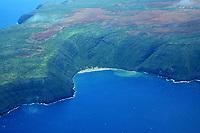 Kahoolawe, Hawaii, aerial view