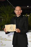 CANNES, FRANCE. July 17, 2021: Nadav Lapid at the photocall for Cannes Awards 2021 at the 74th Festival de Cannes.<br /> Picture: Paul Smith / Featureflash