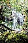 Russell Falls in Mt Field National Park, Tasmania, Australia