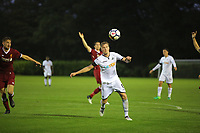 Pictured: Adam King of Swansea. Friday 11 August 2017<br /> Re: Premier League 2, Division 1, Swansea City U23 v Liverpool U23 at the Landore Training Ground, Swansea, UK