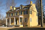 Mahlon K. Taylor House, Washingtons Crossing, Bucks County, PA 1817