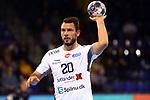VELUX EHF 2019/20 EHF Men's Champions League Group Phase - Round 8.<br /> FC Barcelona vs Aalborg Handbold: 44-35.<br /> Mads Christiansen.