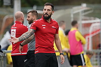 Trainer Francisco Ortega (Büttelborn) unzufrieden - Büttelborn 03.10.2021: SKV Büttelborn vs. SV 07 Geinsheim, Gruppenliga