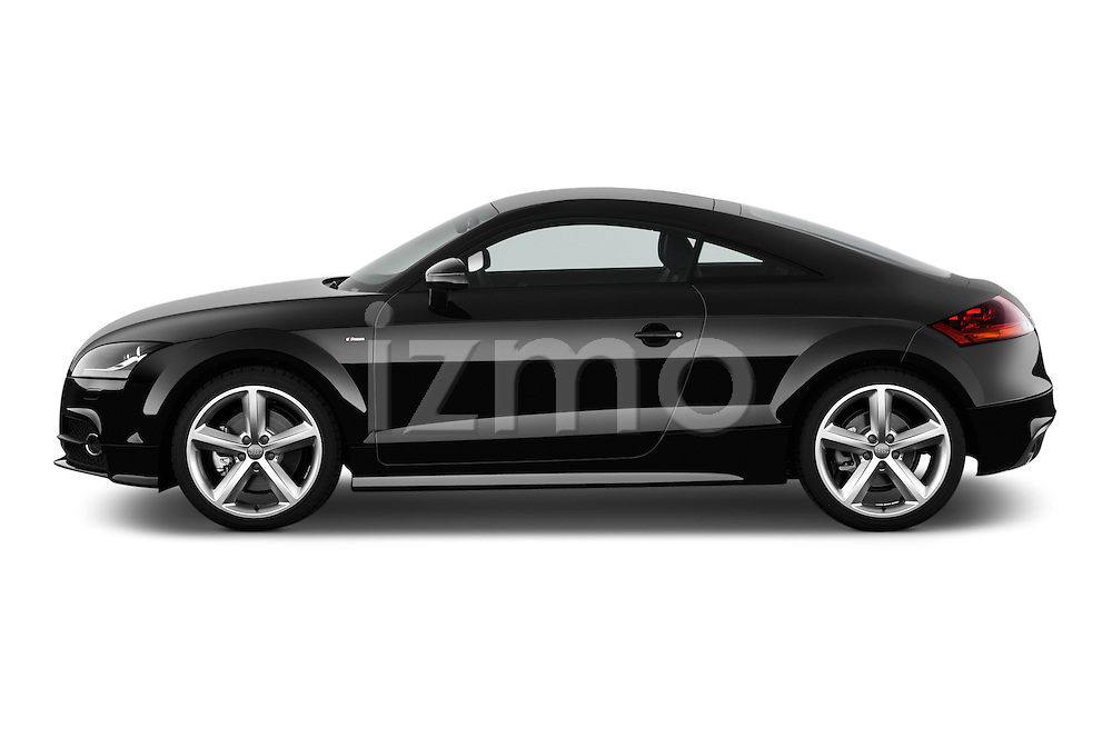 Driver side profile view of a 2011 - 2014 Audi TT S line 3 Door Coupe 4WD