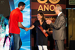 Rudy Fernandez during the 80th Aniversary of the National Basketball Team at Melia Castilla Hotel, Spain, September 01, 2015. <br /> (ALTERPHOTOS/BorjaB.Hojas)