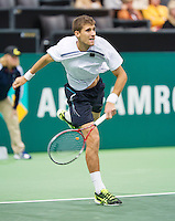 11-02-13, Tennis, Rotterdam, ABNAMROWTT, Martin Klizan