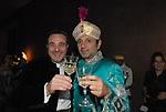 JOUAD KADIRI CON ROBERTO DI MEO<br /> FESTA DI PRESENTAZIONE DEL CALENDARIO DI MEO -  <br /> PALAZZO KADIRI  MARRAKECH 2010