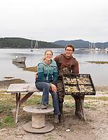 Jones Family Farm-Lopez Island on September 19, 2015.