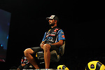 HOT SPRINGS, AR - AUGUST 12: FLW pro Nick Lebrun before the weight-in on day three FLW Forrest Wood Cup on Lake Ouachita in Hot Springs, Arkansas. (Photo by Justin Manning/Eclipse Sportswire/Getty Images)