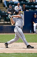 June 22, 2008: Brian Myrow of the Portland Beavers at-bat against the Tacoma Rainiers during a Pacific Coast League game at Cheney Stadium in Tacoma, Washington.