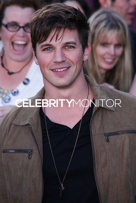 """WESTWOOD, LOS ANGELES, CA, USA - MARCH 18: Matt Lanter at the World Premiere Of Summit Entertainment's """"Divergent"""" held at the Regency Bruin Theatre on March 18, 2014 in Westwood, Los Angeles, California, United States. (Photo by David Acosta/Celebrity Monitor)"""