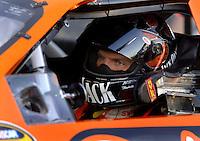 Apr 20, 2006; Phoenix, AZ, USA; Nascar Nextel Cup racer Clint Bowyer driver of the (07) Jack Daniels/Sylvania Chevrolet Monte Carlo during qualifying for the Nextel Cup Subway Fresh 500 at Phoenix International Raceway. Mandatory Credit: Mark J. Rebilas