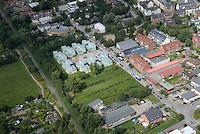Asylantenheim Brookkehre: EUROPA, DEUTSCHLAND, HAMBURG, BERGEDORD (EUROPE, GERMANY), 02.09.2016: Asylantenheim Brookkehre