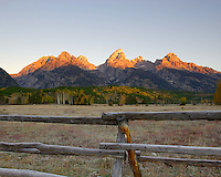 Sunrise in Grand Tetons National Park, Wyoming