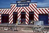 Xapuri, Acre State, Brazil. Mercadinho do Povo mini supermarket and hardware store.