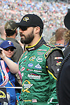 Sprint Cup Series driver Paul Menard (27) in action before the NASCAR Sprint Cup Series AAA 500 race at Texas Motor Speedway in Fort Worth,Texas.
