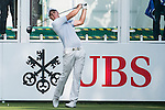 Lionel Weber of France tees off the first hole during the 58th UBS Hong Kong Golf Open as part of the European Tour on 08 December 2016, at the Hong Kong Golf Club, Fanling, Hong Kong, China. Photo by Marcio Rodrigo Machado / Power Sport Images