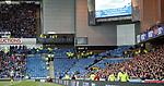 Plenty of segregation for very few away fans