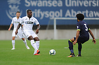 Monday 20th August 2018<br /> Pictured: Swansea City's Tyler Reid<br /> Re: Swansea City U23 v Derby County U23 Premier League 2 match at the Landore Training facility, Swansea, Wales, UK