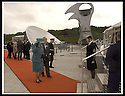 24/05/2002                   Copyright Pic : James Stewart.File Name : stewart-queen falkirk  01.QUEEN ELIZABETH II ARRIVES AT THE FALKIRK WHEEL.....Payments to :-.James Stewart Photo Agency, 19 Carronlea Drive, Falkirk. FK2 8DN      Vat Reg No. 607 6932 25.Office     : +44 (0)1324 570906     .Mobile  : +44 (0)7721 416997.Fax         :  +44 (0)1324 570906.E-mail  :  jim@jspa.co.uk.If you require further information then contact Jim Stewart on any of the numbers above.........