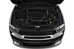Car stock 2019 Dodge Durango GT 5 Door SUV engine high angle detail view