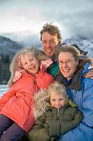 Berni and Uta Hicker Family