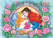 Interlitho, Nino, CUTE ANIMALS, puzzle, paintings, sleep.beauty, prince(KL3913,#AC#) illustrations, pinturas, rompe cabeza