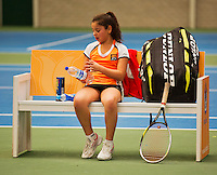 20131201,Netherlands, Almere,  National Tennis Center, Tennis, Winter Youth Circuit, Lienka Ammar  <br /> Photo: Henk Koster