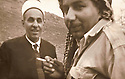Iraq 1970 .Two brothers: from left to right, Rashad  and Chamseddine Mufti  .Irak 1970 .Deux freres: de gauche a droite, Rashad et Chamseddine Mufti