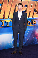 """Benedict Cumberbach<br /> arriving for the """"Avengers: Infinity War"""" fan event at the London Television Studios, London<br /> <br /> ©Ash Knotek  D3393  08/04/2018"""