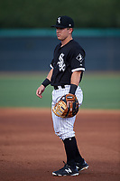 AZL White Sox first baseman Daniel Millwee (45) during an Arizona League game against the AZL Padres 2 on June 29, 2019 at Camelback Ranch in Glendale, Arizona. The AZL Padres 2 defeated the AZL White Sox 7-3. (Zachary Lucy/Four Seam Images)