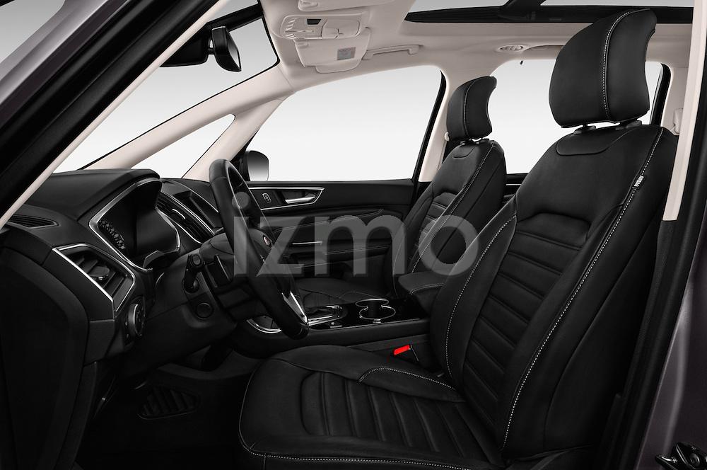 Front seat view of 2016 Ford Galaxy Titanium 5 Door Minivan Front Seat  car photos