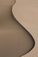 Great Sand Dunes National Park ridgline abstract.<br /> <br /> Canon EOS 5D, 70-200 f/2.8L lens with 1.4x teleconverter