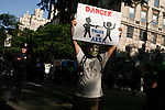 """Protest againts """"stop-and-frisk"""" in NYC"""