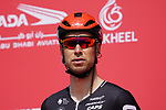 Roger Kluge (GER) Lotto-Soudal at sign on before the start of Stage 6 of the 2021 UAE Tour running 165km from Deira Island to Palm Jumeirah, Dubai, UAE. 26th February 2021.  <br /> Picture: Eoin Clarke   Cyclefile<br /> <br /> All photos usage must carry mandatory copyright credit (© Cyclefile   Eoin Clarke)