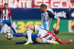 Cani of Deportivo de la Coruna in action during their La Liga match between Atletico Madrid and Deportivo de la Coruna at the Vicente Calderon Stadium on 25 September 2016 in Madrid, Spain. Photo by Diego Gonzalez Souto / Power Sport Images