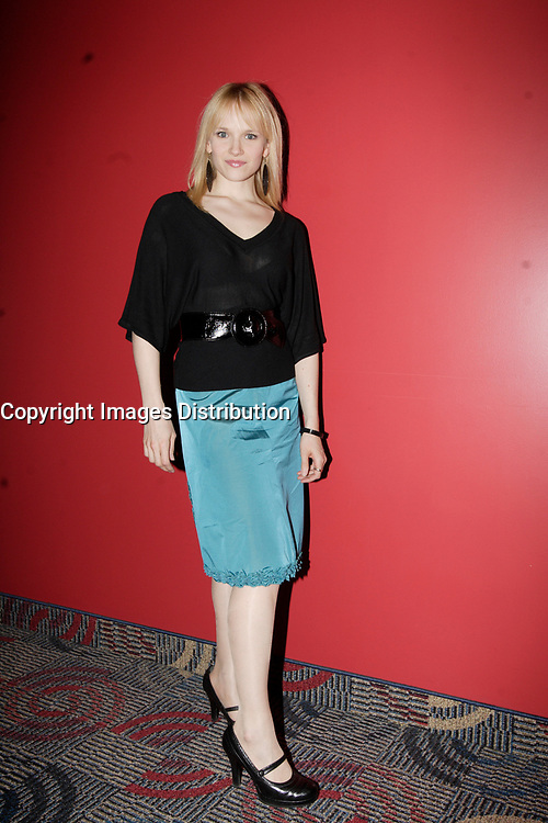 Montreal (Qc) Canada, May 3rd 2007<br /> <br /> -Marianne Farley, actress,<br /> at the red carpet event to celebrate that<br /> Paramount become Scotia Bank Cinema<br /> <br /> photo : Pierre Roussel (c)  Images Distribution