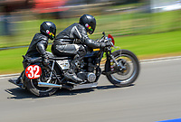 Dave Reesby and Sue van den Heuvel (Classic Sidecars). The 2019 Suzuki International Series Cemetery Circuit motorcycle raceday at Cooks Gardens in Wanganui, New Zealand on Thursday, 26 December 2019. Photo: Dave Lintott / lintottphoto.co.nz