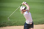 Paula Creamer during the World Celebrity Pro-Am 2016 Mission Hills China Golf Tournament on 22 October 2016, in Haikou, China. Photo by Weixiang Lim / Power Sport Images