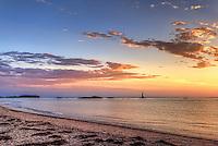 Sunset Over Sakonnet Light
